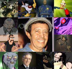 Armando y algunos de sus personajes