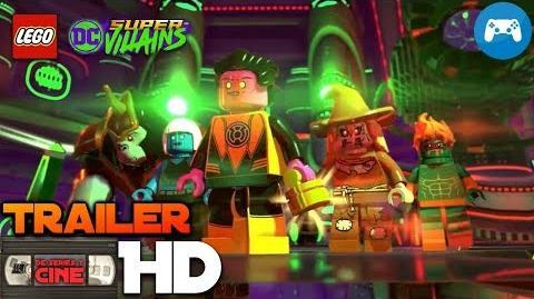 LEGO DC SUPER VILLAINS -Tráiler 2 español latino videojuego