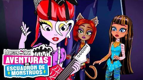 MÚSICA HERMOSTRA Aventuras del Escuadrón de Monstruos Monster High
