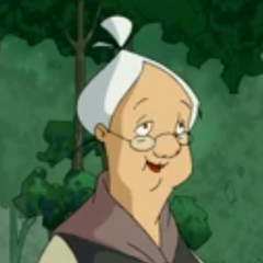 Madre Habart en la versión para televisión de <a href=