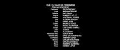 Olé, el viaje de Ferdinand Doblaje Latino Creditos 1