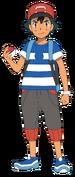 Ash Ketchum SM render by waito chan-daisgou