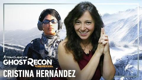 Ghost Recon Wildlands - Plática con Cristina Hernández, la voz de Holt
