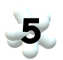 XHGC Canal 5 logo 1997 3d(1)