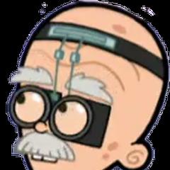 Profesor Finbarr Calamitous en <a href=