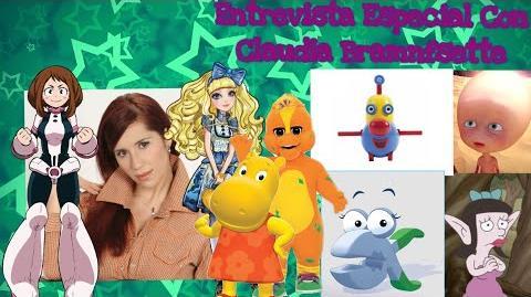 Entrevista Especial Con Claudia Bramnfsette