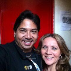 Maggie Vera y Victor Hugo Aguilar (Tirek). (23/05)