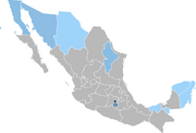 Mapa de doblajes al español en México