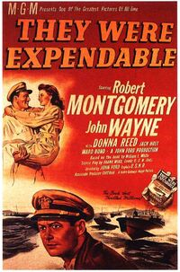 THEY WERE EXPENDABLES 1945 poster 1