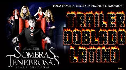 Tráiler Doblado al Latino de Sombras Tenebrosas (Dark Shadows) 2012