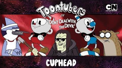 ¡THOMAS NOS SECUESTRÓ EN CUPHEAD! ToonTubers Cartoon Network