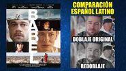 Babel -2006- Comparación del Doblaje Original y Redoblaje -Español Latino-