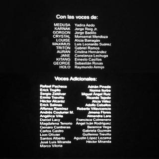 Créditos del episodio 2