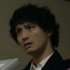 Keizō Tokiwa en la película de terror <a href=