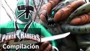 Power Rangers en Español Power Rangers Luchas Samurai