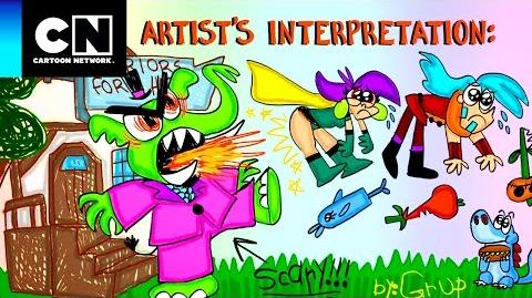 El paseo Magiespadas Cartoon Network