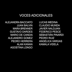 Voces adicionales episodio 1.