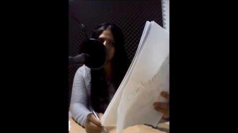 Un día de grabación con Stefani Villarroel