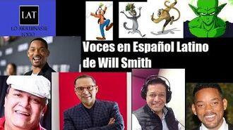 Voces en Español Latino de Will Smith