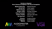 Evangelion The End of Evangelion Credits.LAS