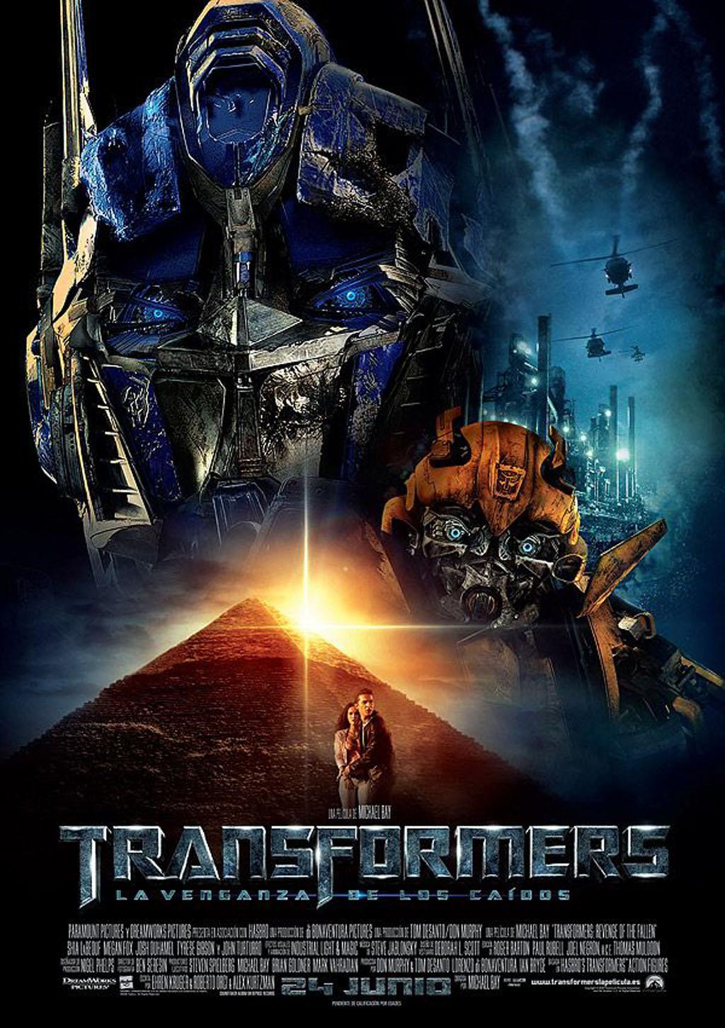 Transformers: La venganza de los caídos   Doblaje Wiki