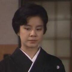 Michiko en la recordada telenovela japonesa <a href=