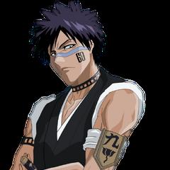 Shuhei Hisagi (1ª voz) también en <a href=