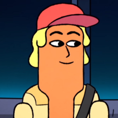 Hot Dog en <a href=