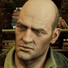 Charlie Cutter en la saga de videojuegos de <a href=