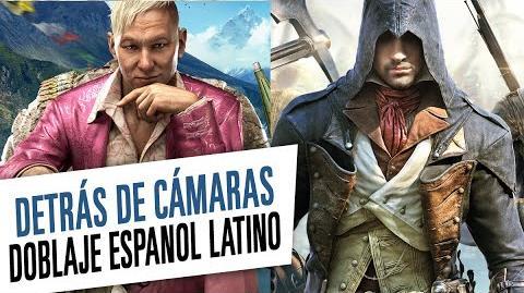 Doblaje Espanol Latino - Detrás de Cámaras