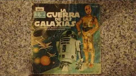 STARWARS AUDIOLIBRO 1979 ESPAÑOL LATINO