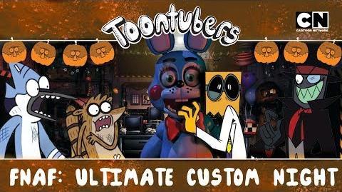 FNAF ULTIMATE BLACKHAT NIGHT! Toontubers Cartoon Network