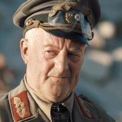 General en el desierto en <a href=