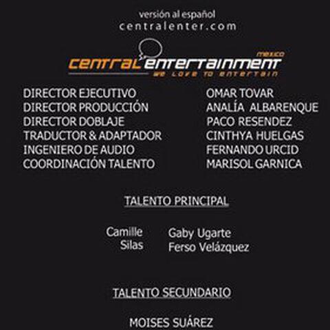 Creditos del DVD (doblaje mexicano)