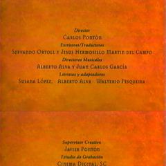 Créditos del Videocassette
