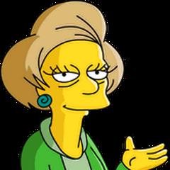 Edna Krabappel en <a href=