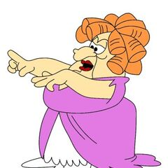La bruja Hogatha (1ª voz) en <a href=