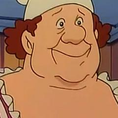 Rosie, la cocinera en <a href=