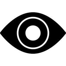 Vigilancia simbolo del ojo