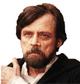 Luke Skywlaker Adulto The Last Jedi