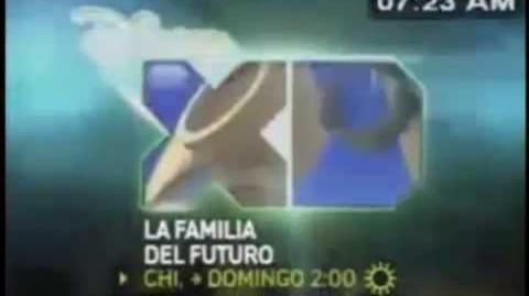 """Promo """"La Familia del Futuro"""" en Disney XD"""