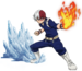 Shoto Todoroki Action MHA