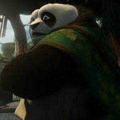 Li Shan, el padre de Po en <a href=