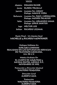 Doblaje Latino de Aladdín (Edición Especial 2004)