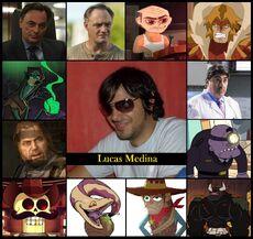 Homenaje a Lucas Medina