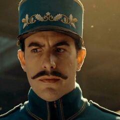 Inspector de la estación en <a href=
