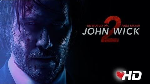 JOHN WICK 2 - UN NUEVO DIA PARA MATAR Segundo tráiler oficial doblado con Keanu Reeves