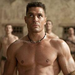 Crixus en las series de <a href=