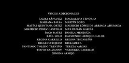 Mi amigo el dragón (2016) Doblaje Latino Creditos 4