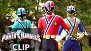 Power Rangers en Español!Kevin no puede metamorfosearse¡